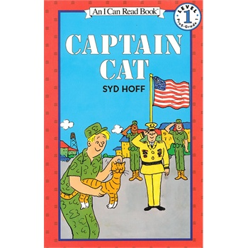 《[英文原版]Captain Cat 猫咪上校》的封面