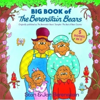 《Big Book of the Berenstain Bears贝贝熊系列 英文原版》封面